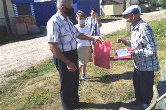 Ветеран труда Воробьев Петр Иванович из деревни Тегешево перешагнул 90-летний рубеж в своей жизни и надеется в будущем отметить 100-летний юбилей