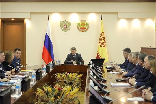 Врио Главы Чувашии Олег Николаев объявил об отставке Правительства республики