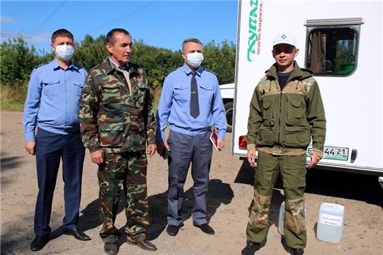 В Моргаушском районе прошло командно-штабное учение по ликвидации очага африканской чумы свиней: все службы справились с поставленной задачей