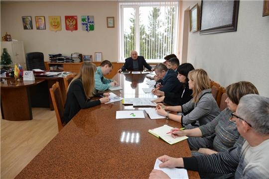 В администрации района рассмотрены актуальные вопросы в сфере жилищно-коммунального хозяйства