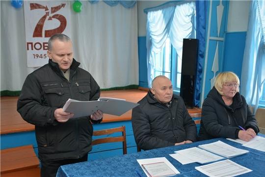 В Ермошкинском сельском поселении состоялась отчетная встреча с населением