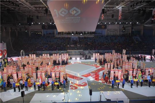 Делегация Вурнарского района приняла участие в торжественном мероприятии, посвященному 100-летию образования Чувашской автономной области