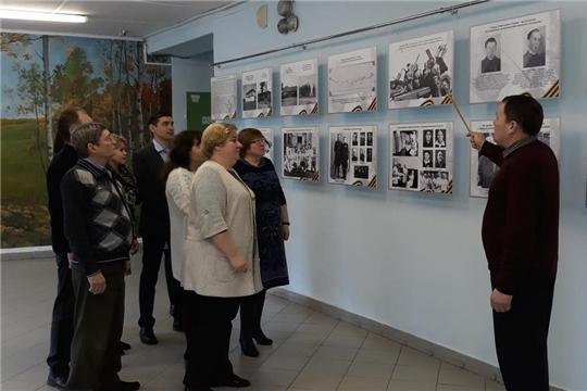 Открылась выставка «75-летию Победы посвящается»