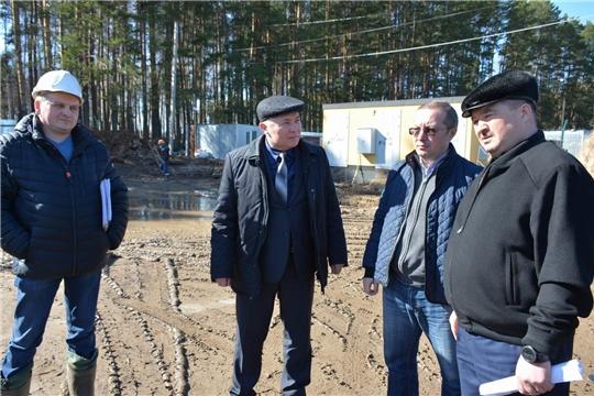 Рабочий визит и.о. министра природных ресурсов и экологии Чувашской Республики в Вурнарский район