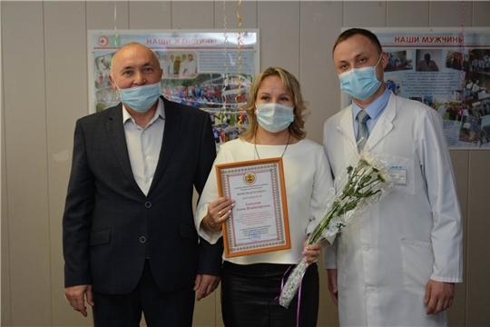 Глава администрации района поздравил медицинских работников с профессиональным праздником
