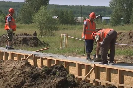 В деревне Буртасы приступили к строительству нового СДК