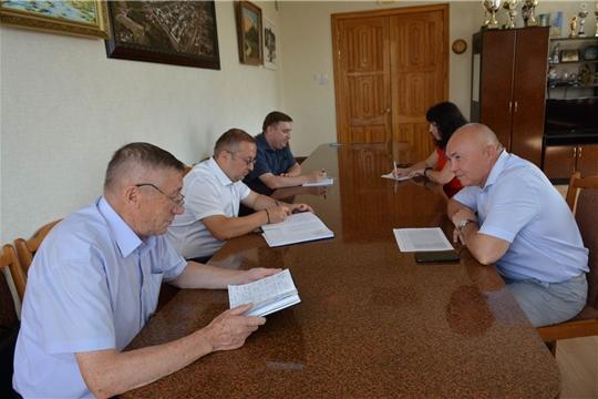 В Вурнарском районе с рабочим визитом побывали руководители трех отраслевых ведомств региона