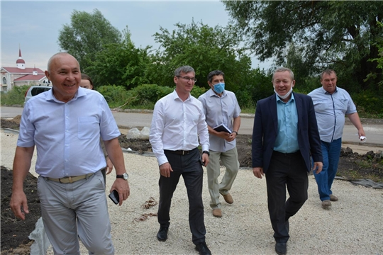 Вурнарский район с рабочим визитом посетил Александр Героев