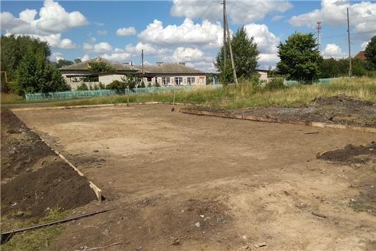 В Большеяушском поселении в рамках благоустройства построят спортивную площадку
