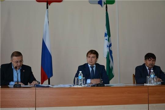 Состоялось очередное заседание Вурнарского районного Собрания депутатов