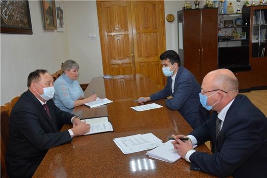 В Вурнарском районе с рабочим визитом побывал исполнительный директор Совета муниципальных образований Чувашии