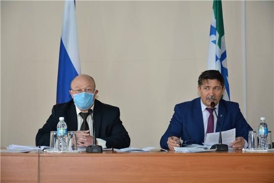 Состоялось 3-е внеочередное заседание Вурнарского районного Собрания депутатов