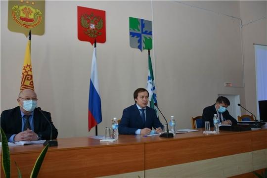 4-е очередное заседание Вурнарского районного Собрания депутатов седьмого созыва