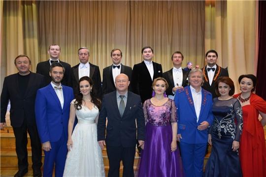 В Вурнарах состоялся гала-концерт артистов театра оперы и балета