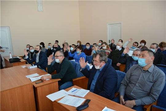 Состоялось 5-е заседание Вурнарского районного Собрания депутатов