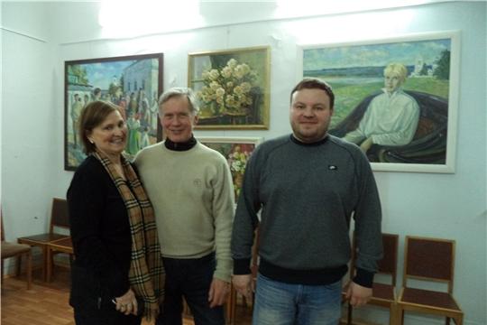 Гостям из Финляндии в Ядринском художественно-краеведческом музее было интересно