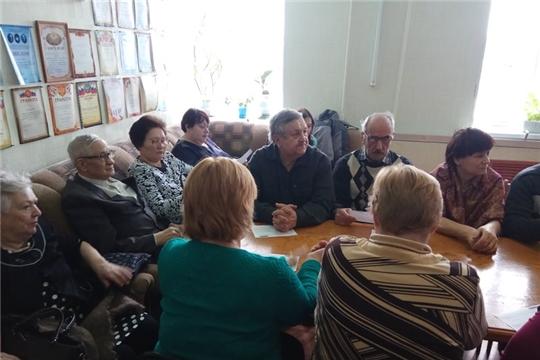 Информационный час в БУ «Ядринский КЦСОН» Минтруда Чувашии