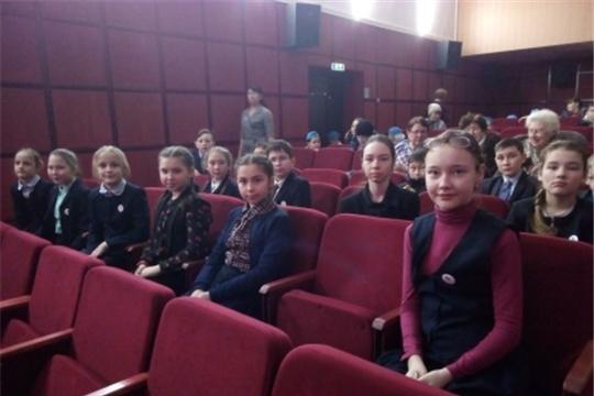 Учащиеся Гимназии №1 г. Ядрин стали участниками концертной программы, приуроченной 31 –ой годовщине вывода советских войск из Афганистана