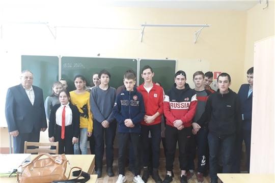 Встреча со студентами Ядринского агротехникума