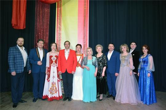 Подарили праздник чувашской музыки
