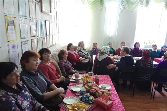 Встреча с тружениками тыла и детьми войны в Ядринском КЦСОН