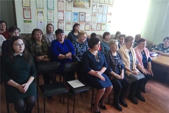 Поздравление с 8 марта  в Ядринском комплексном центре социального обслуживания населения