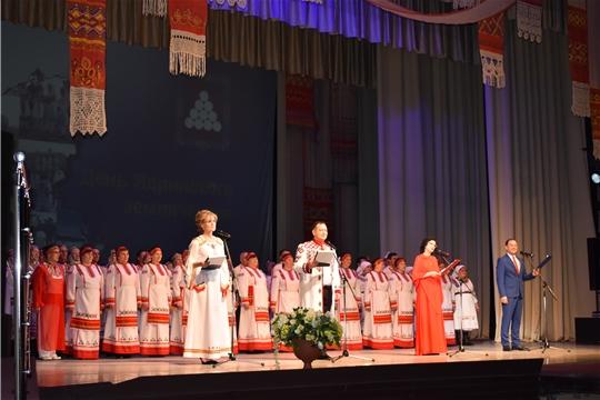 День Ядринского землячества в Чувашском государственном Театре оперы и балета г.Чебоксары