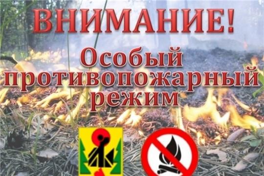 С 4 апреля в республике действует особый противопожарный режим!