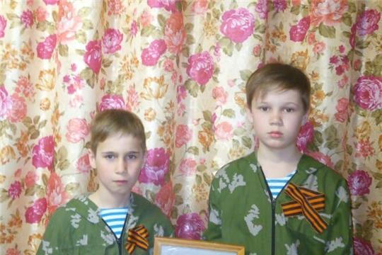 Учащиеся Балдаевской школы присоединились ко всероссийским акциям в рамках празднования Дня Победы