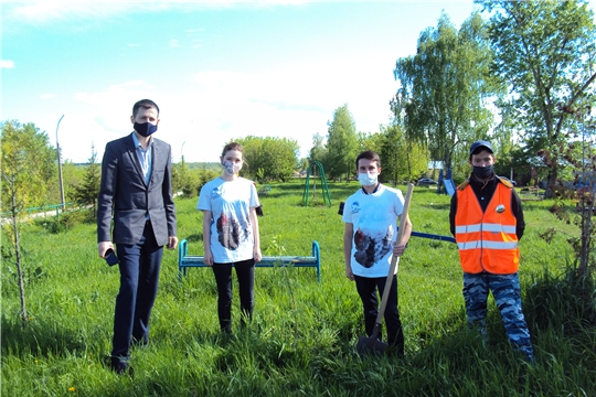 Акция «Сад памяти» в Ядринском районе