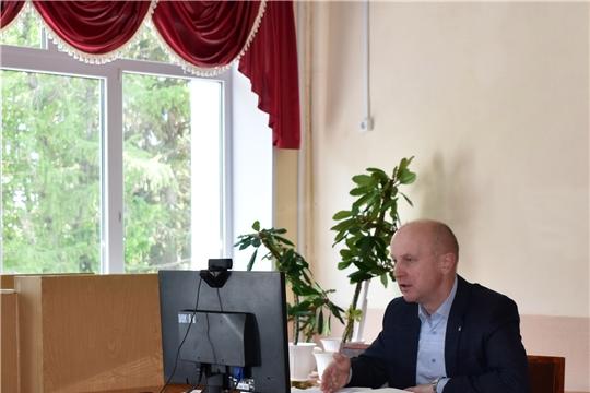 Совещание с главами поселений в режиме ВКС