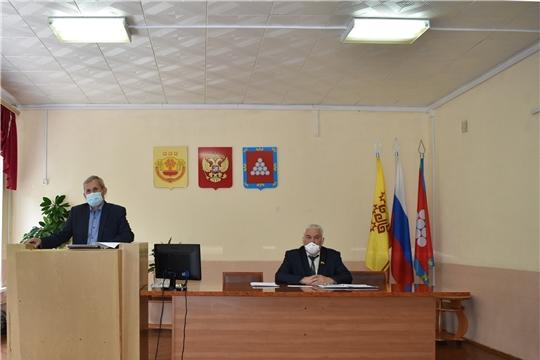 Состоялось заседание Ядринского районного Собрания депутатов VI Созыва