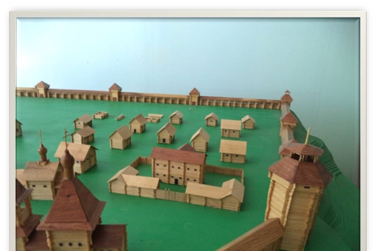Крепость города Ядрина. 1590 год.