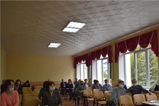 Состоялось совещание с главами  поселений Ядринского района