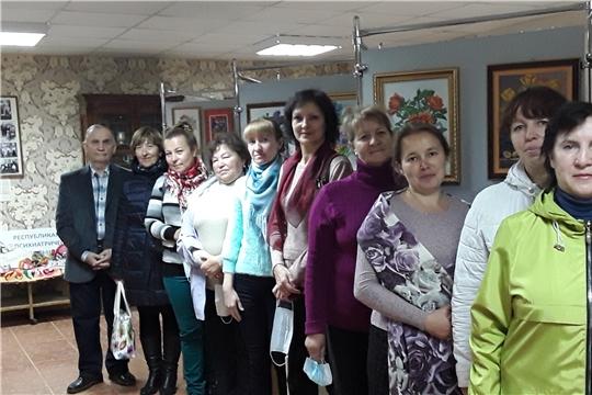 В Доме - музее новая выставка «Ядрин – город творчества и красоты»