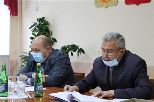 Состоялось первое очередное заседание Ядринского районного Собрания депутатов VII созыва