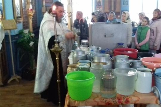 Праздник Крещения в селе Новые Шимкусы