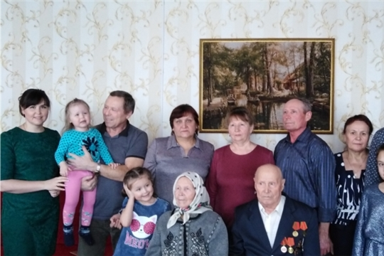 90-летний юбилей отметил житель с.Байдеряково Семен Васильевич Можаев
