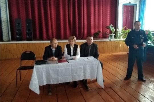 Состоялось собрание граждан деревни Новое Янашево и села Байглычево
