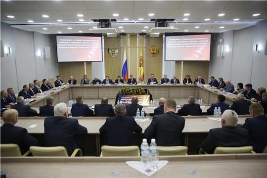 Олег Николаев провел совещание с руководителями муниципальных образований Чувашской Республики