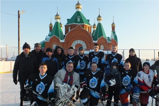 В селе Большие Яльчики состоялся районный турнир по хоккею с шайбой памяти воинов-интернационалистов