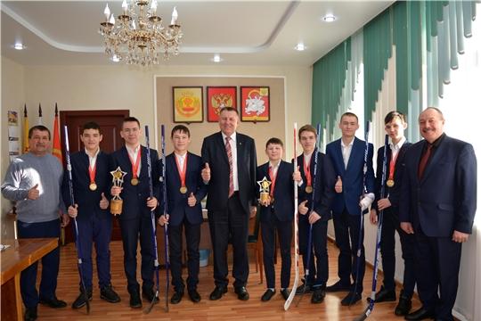 Юные хоккеисты Яльчикского района - лучшие в России