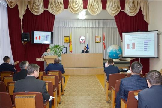 На еженедельном совещании у главы администрации Яльчикского района