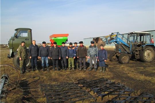 В хозяйствах Яльчикского района идет смотр готовности к весенним полевым работам