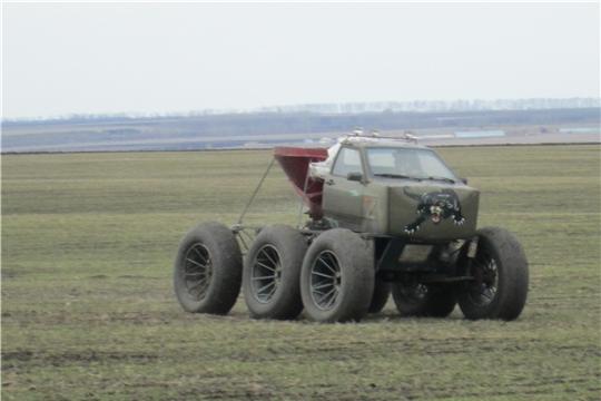 В Яльчикском районе продолжаются весенние полевые работы
