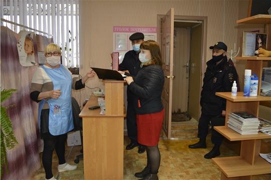 Мобильная группа проверила соблюдение санитарно-противоэпидемиологического режима в торговых точках и салонах