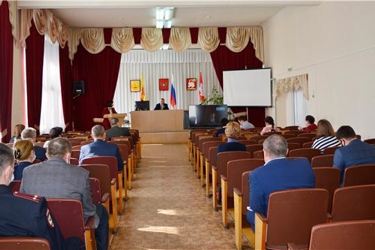 Прошло очередное заседание оперативного штаба по предупреждению завоза и распространения коронавирусной инфекции
