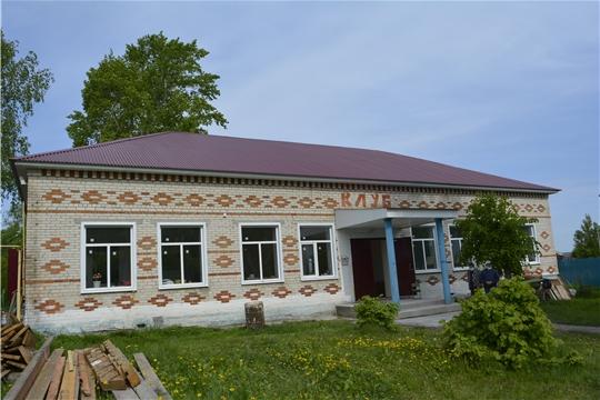 Глава администрации Яльчикского района Николай Миллин ознакомился с ходом ремонтных работ в Новоандиберевском сельском клубе