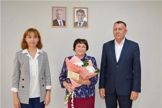 Министр труда и социальной защиты Чувашской Республики Алена Елизарова посетила Яльчикский район