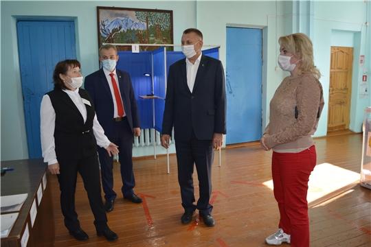 Выборы-2020: Кушелгинский избирательный участок №2416
